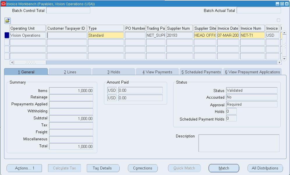 Oracle Applications Oracle Apar Netting Setups And Process Manual