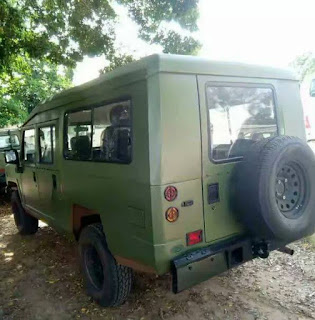 Innoson military vehicles used by Nigerian Army to battle Boko Haram