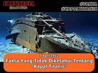 FAKTA Yang tidak diketahui Tentang Kapal Titanic!