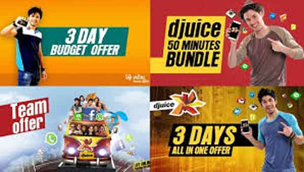 Telenor djuice Call Packages 2017 Daily, Weekly, Hourly, FnF