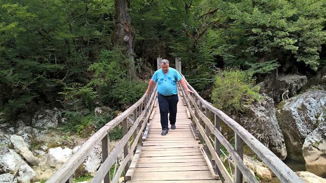 Muhasebeci Ömer Demir Kastamonu Küre Dağları Milli Parkı Ilıca Şelalesinde.