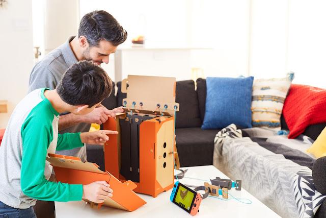 Nintendo cardboard