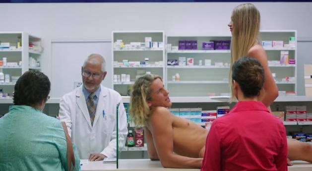 Get NAKED, Four Seasons Condoms Banned TV Spot