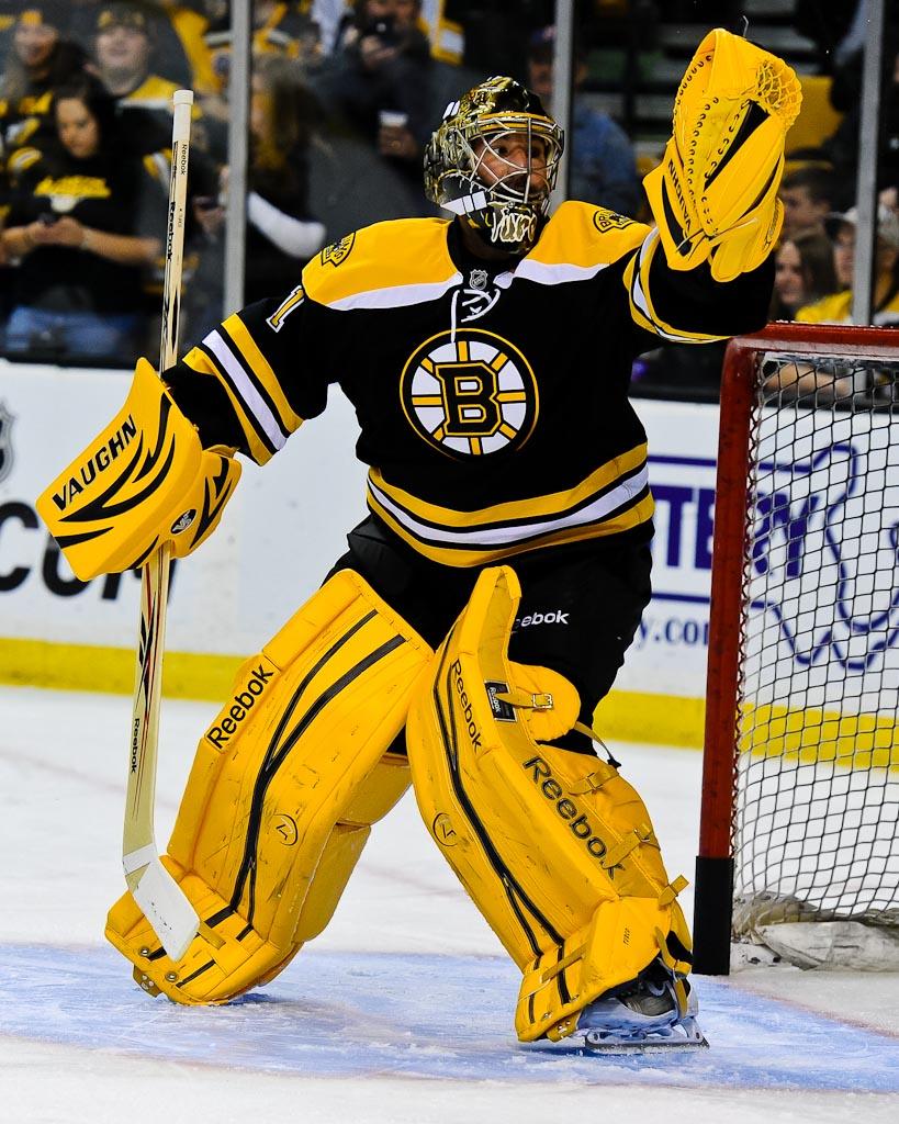 Marty Turco Game Worn Hockey Mask - Boston Bruins  |Marty Turco Mask