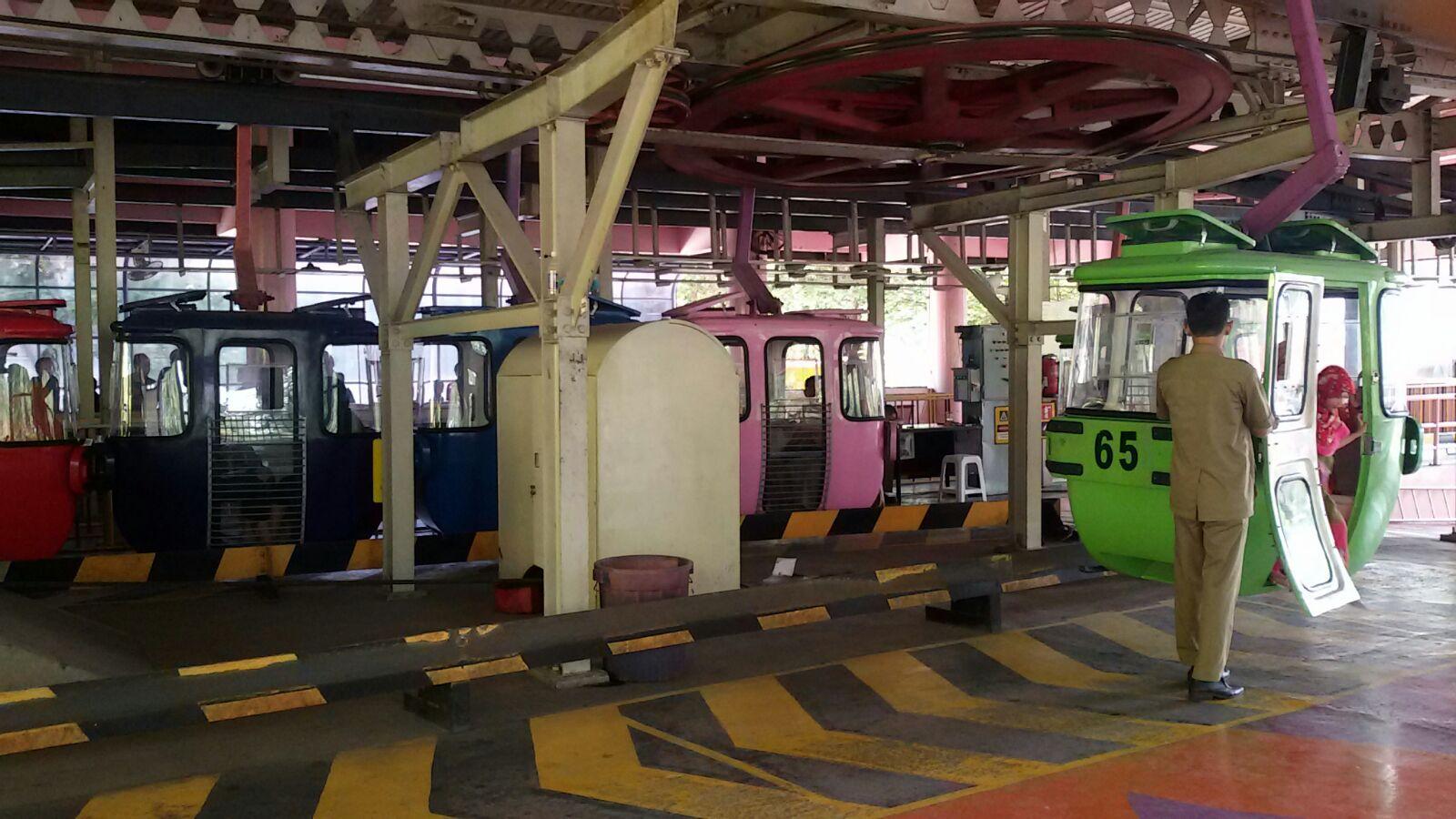 Satu Cara Jitu Cara Jitu Naik Kereta Gantung Di Taman Mini