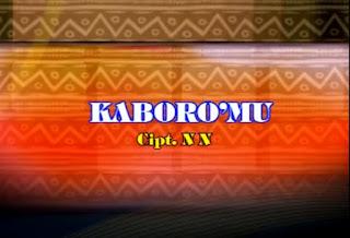 Lirik Lagu Kaboro'mu (Daniel Tandirogang) NN