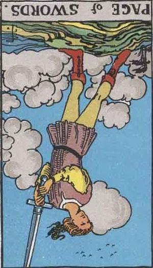 Ultimate Tarot: Tarot Card Symbolism: The Page of Swords
