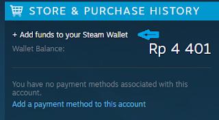 Kode Voucher Steam merupakan salah satu cara untuk mengisi saldo steam yang dapat digunakan  Tutorial Redeem Kode Voucher Steam Wallet