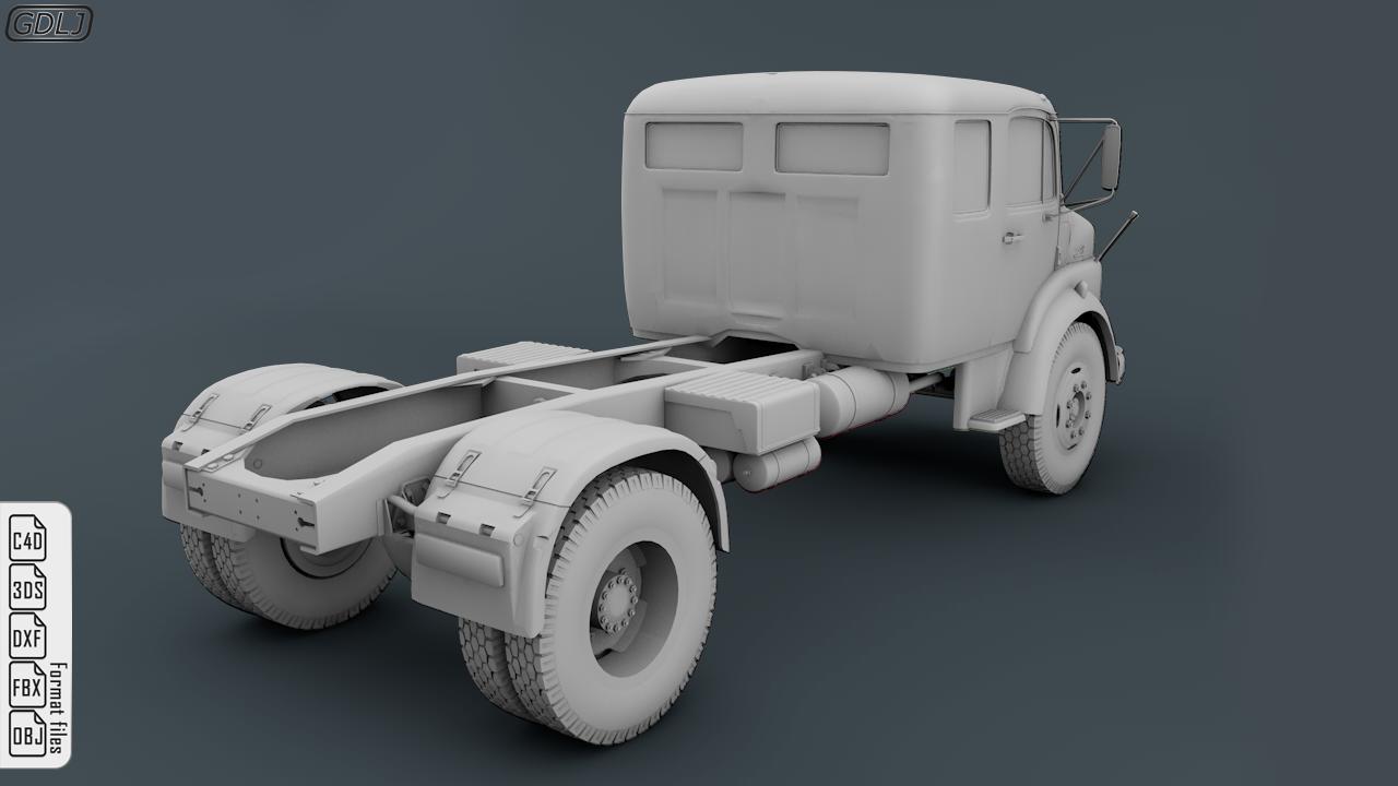 Mercedes Benz 1519 Truck