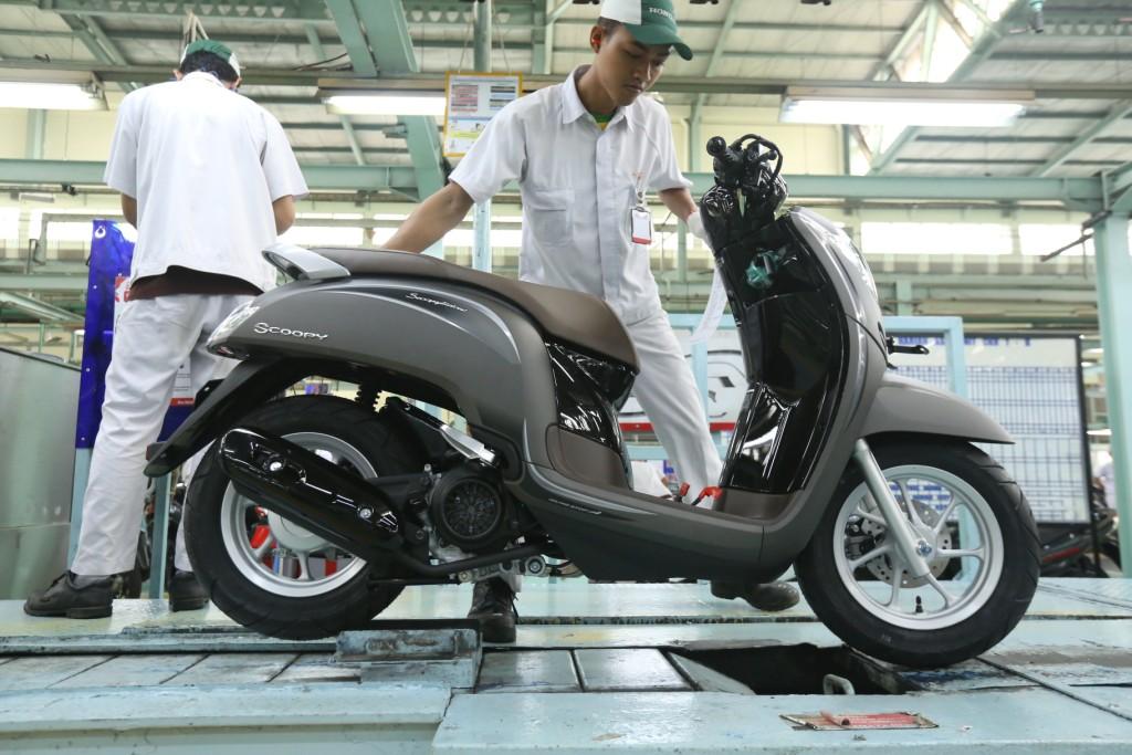Indent Honda Scoopy Cepat, ke Naga Mas Motor Kraguman Saja