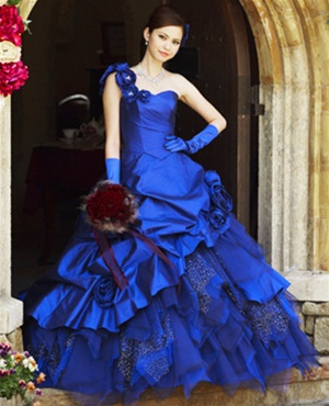 f8ba31c36d3 A Blue Wedding Dress Is Traditional For Russian Brides!