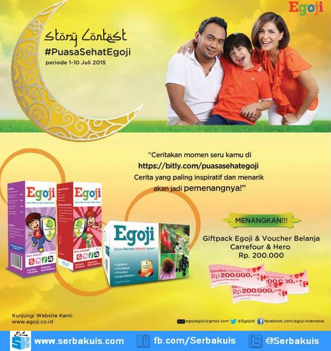 Kontes Cerita Puasa Sehat Egoji Berhadiah Gift Pack & Voucher Belanja