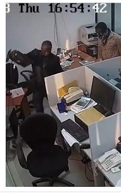 Michael Adikwu in Offa Bank Robbery
