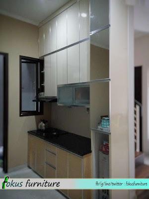 Kitchen set minimalis Lis aluminium Depok