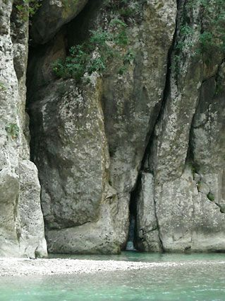 The Gates of Hades River Acheron .Epirus. Northern Greece.