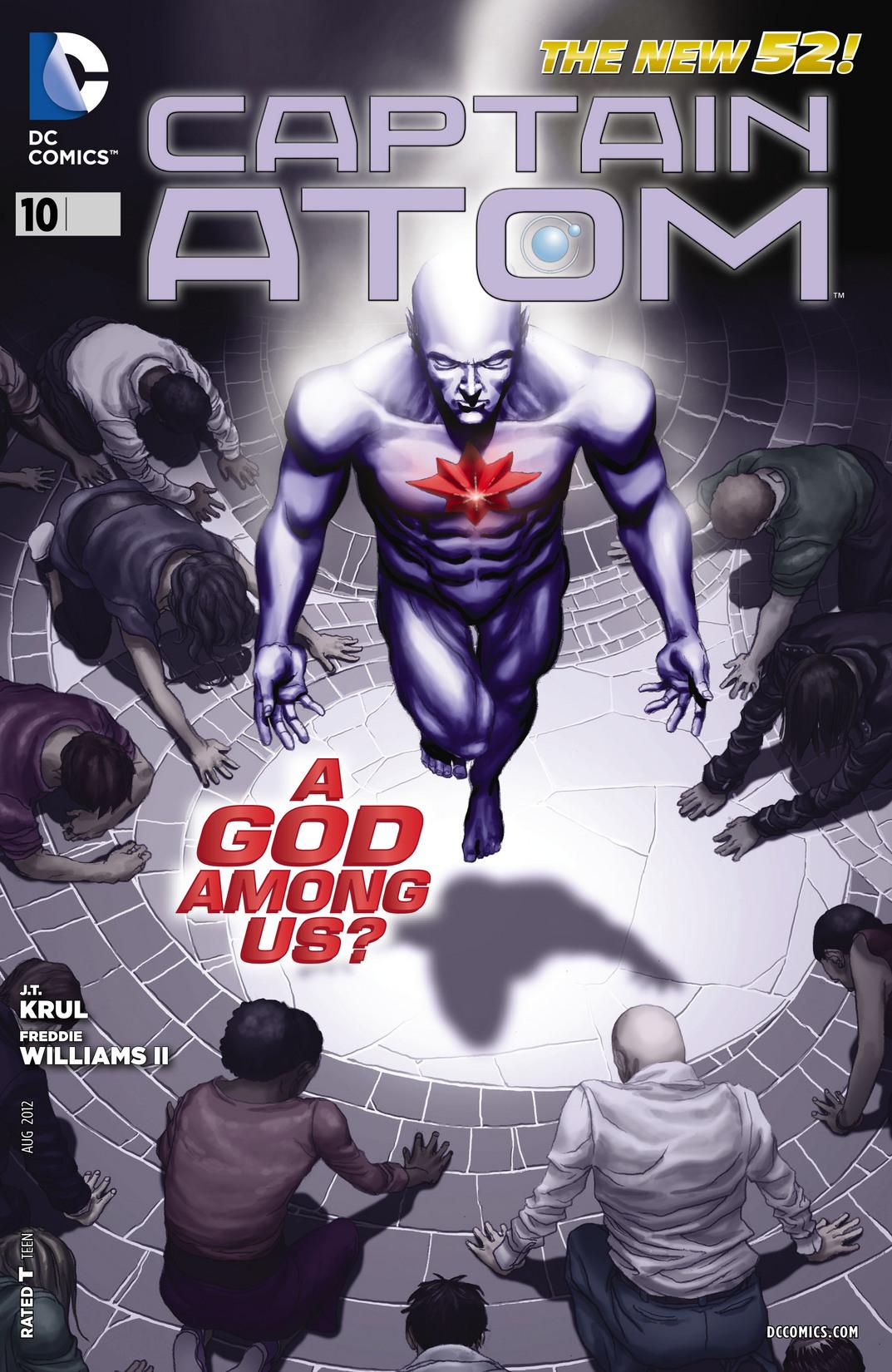 Captain Atom (2011) 10 Page 1