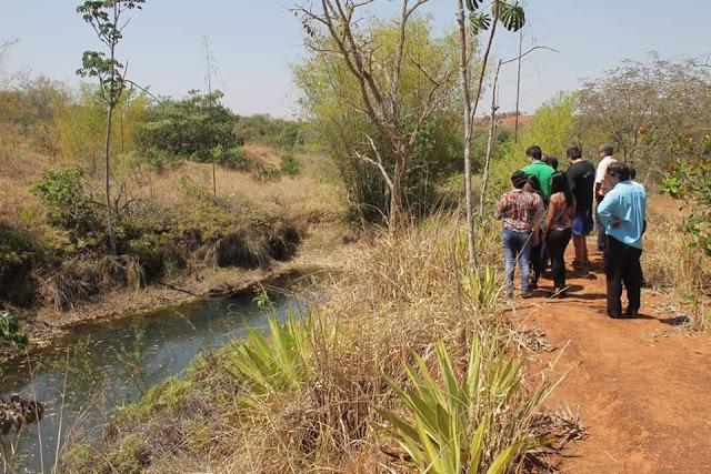 Técnicos de Senador Canedo visitam Rio Verde para conhecer iniciativa de produção de água