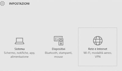 Come disattivare il wifi su windows 10