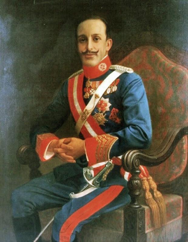 Luciano Sanchez Santaren, Retrato de Alfonso XIII por Luciano Sanchez Santaren, Alfonso XIII , Retratos de Luciano Sanchez Santaren, Pintor español, Retratos de Alfonso XIII
