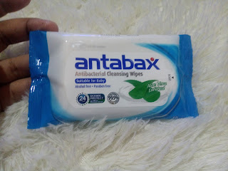 ANTABAX ANTIBACTERIAL CLEANSING WIPES