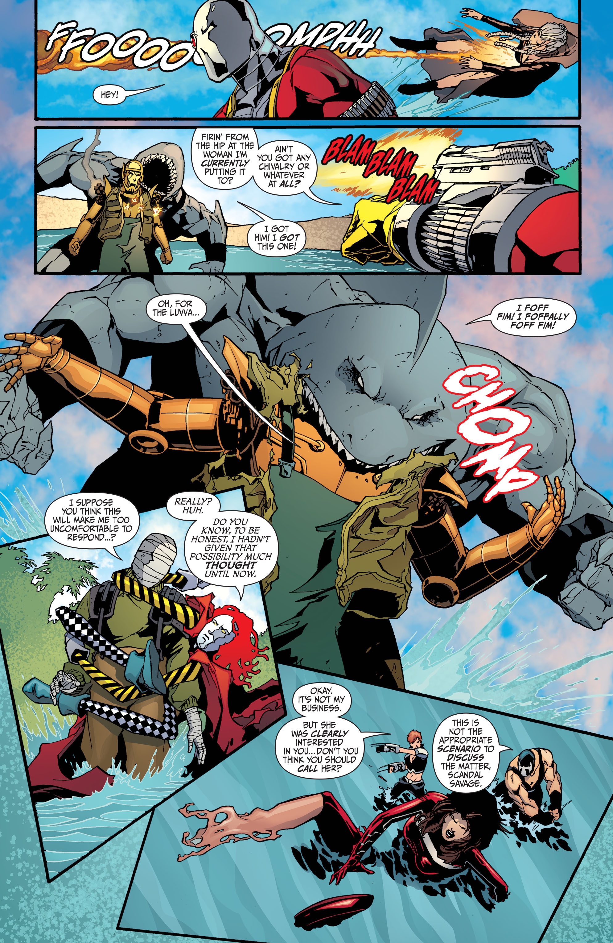 Read online Secret Six (2008) comic -  Issue #30 - 18