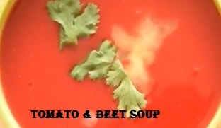 How To Prepare Soup Of Tomato And Beet In 41 Minute