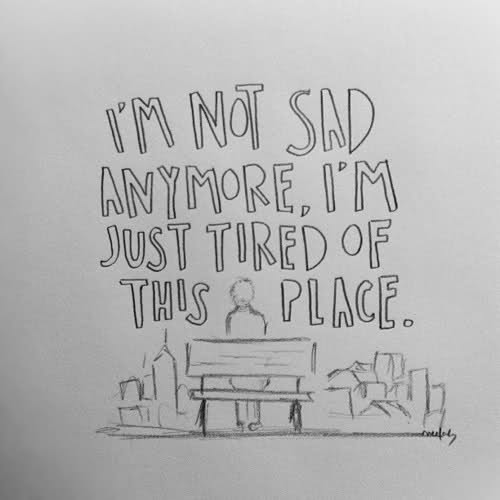 I am not sad