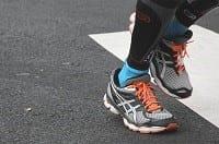 Scarpe da jogging per mantenere giovane il cervello
