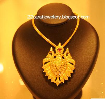Diamond Pendant Set From Kirtilals Jewellery Jewellery