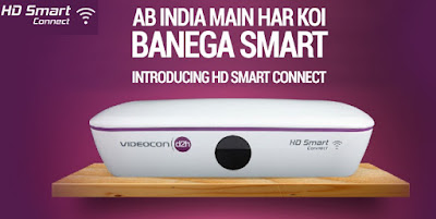 "Videocon D2H launched ""Videocon HD Smart Connect Box"""