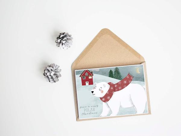 Christmas cards preview - Nuove illustrazioni natalizie in arrivo su Etsy
