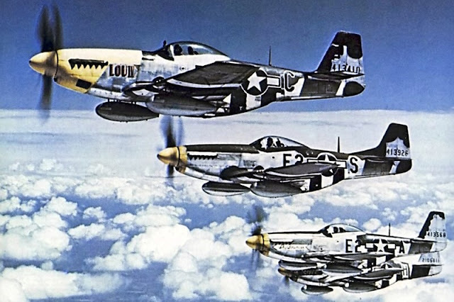P-51 Planes in color worldwartwo.filminspector.com