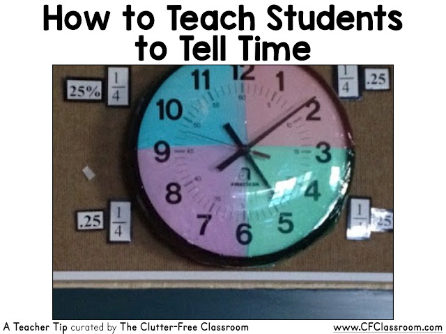 Telling time can be a challenging skill for students to learn. This tip will show you how to help students learn to tell time.