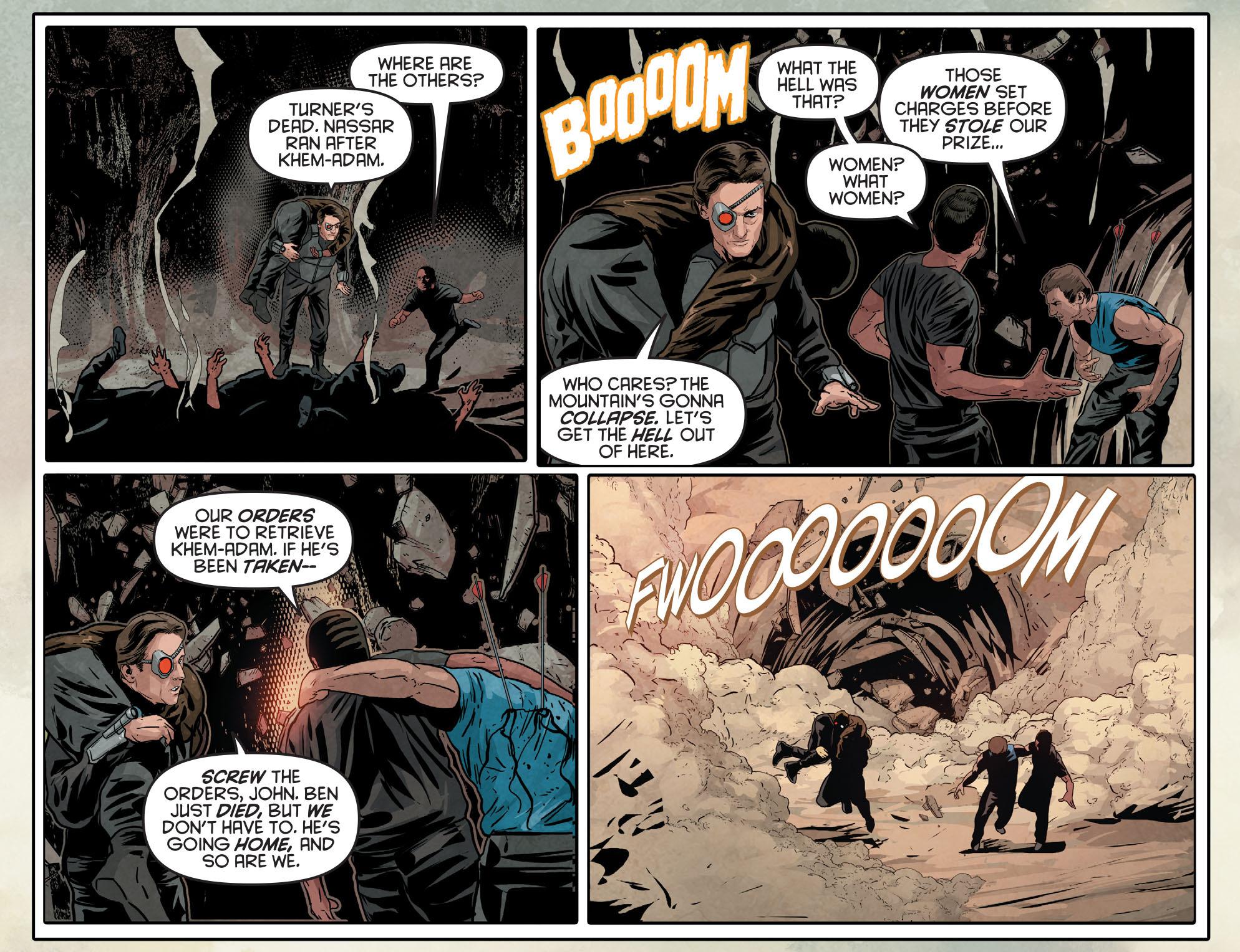 Read online Arrow: Season 2.5 [I] comic -  Issue #12 - 21