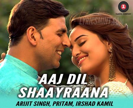Aaj Dil Shayrana - Holiday (2014)