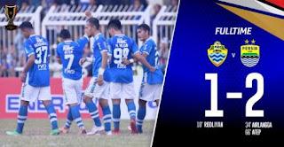 PSKC Cimahi vs Persib Bandung 1-2 Video Gol & Highlights