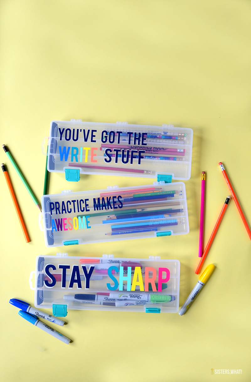 diy pencil case for school