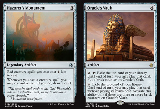 Magic The Gathering Adventures Amonkhet Set Review Artifacts And