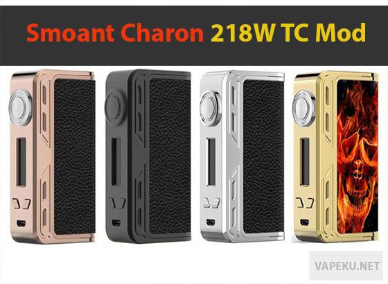 Review MOD, Harga dan Spesifikasi Mod SMOANT Charon TC 218