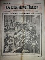 Begrafenisplechtigheid van Philippe Demoulin in februari 1912