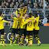 Dortmund goleia no duelo dos Borussias, e Leverkusen tropeça em casa