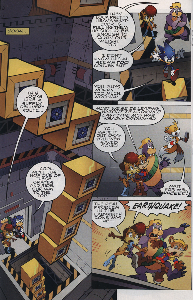 Read online Sonic The Hedgehog comic -  Issue #228 - 18
