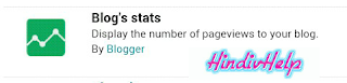 Blog stats screenshot