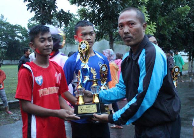 SMP Muhammadiyah 1 Jember Juara Sepak Bola MGMP Cup