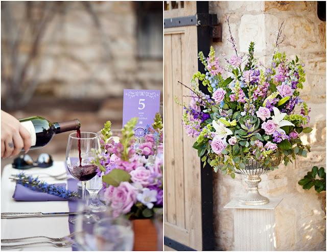 Bride+bridal+vineyard+winery+wine+purple+violet+Lavender+centerpieces+roses+dried+rustic+outdoor+spring+wedding+summer+wedding+fall+wedding+california+napa+valley+sonoma+white+floral+Mirelle+Carmichael+Photography+30 - Lavender Sprigs