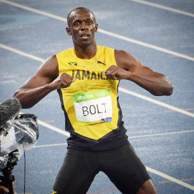 1a1a - #Rio Olympics 2016:Usain Bolt wins third straight Gold medal in 200m race as promise