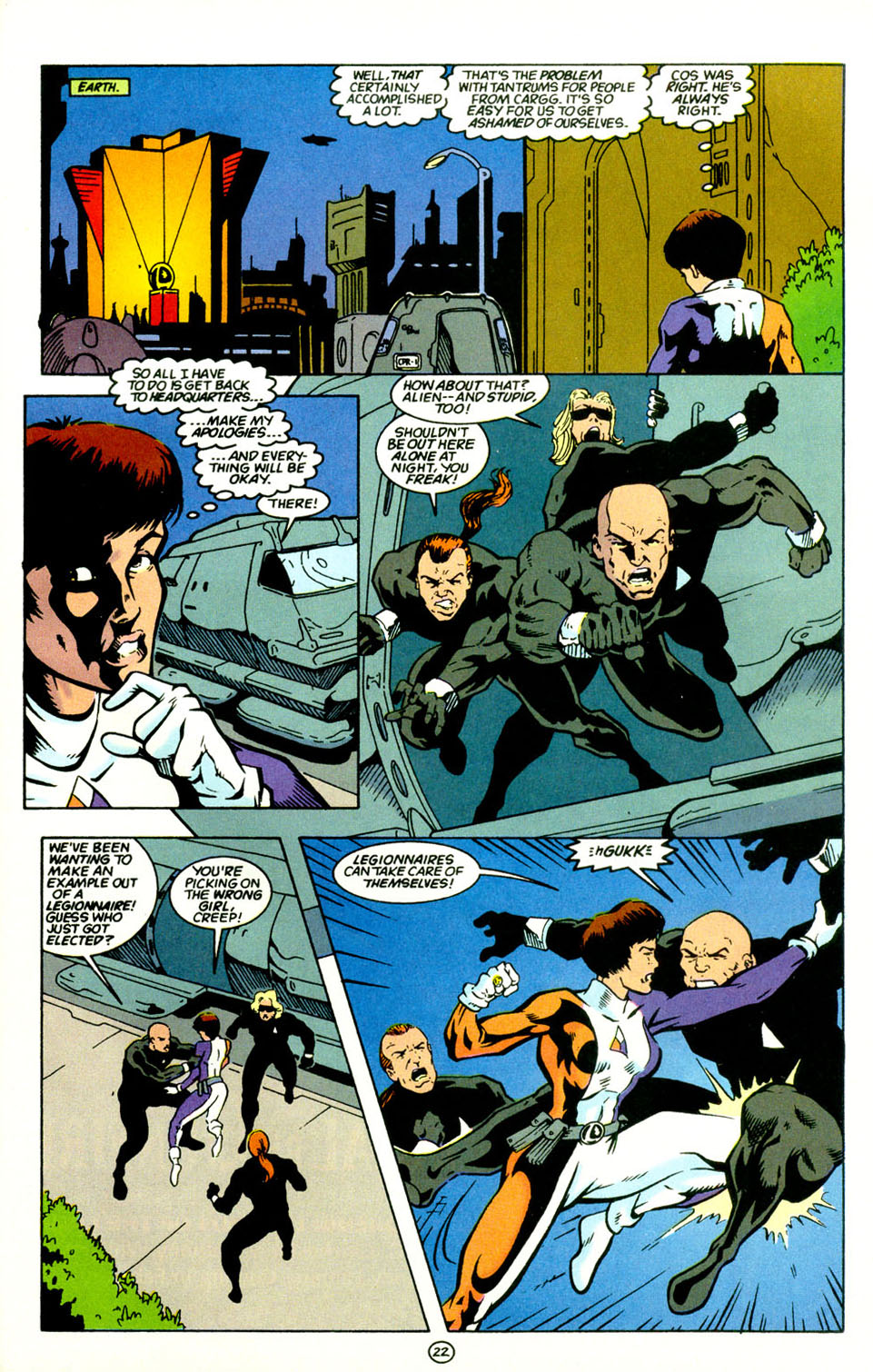 Legion of Super-Heroes (1989) 67 Page 22