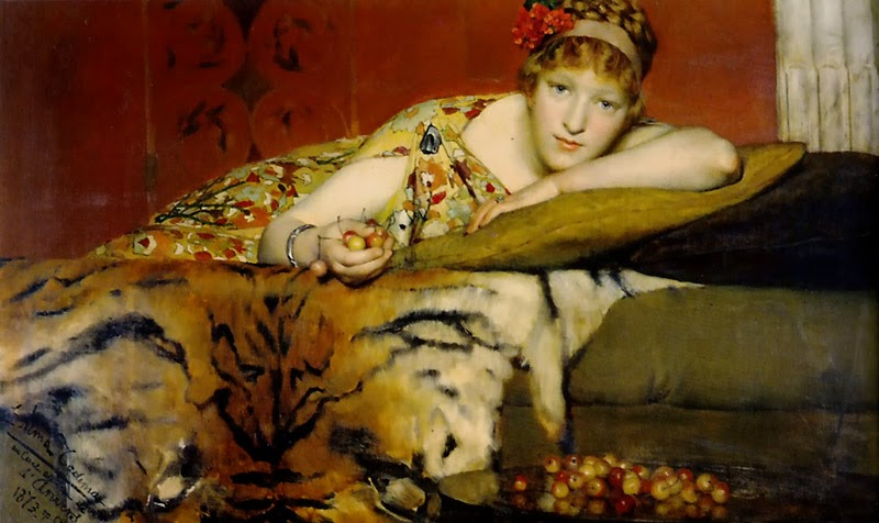 Cerejas - As mais belas pinturas de Lawrence Alma-Tadema - (Neoclassicismo)