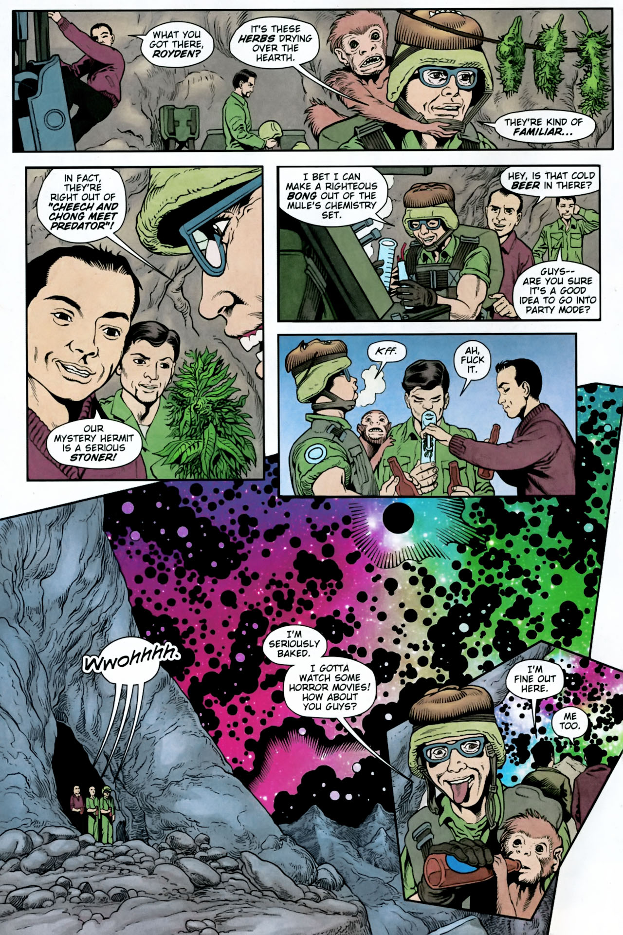 Read online Army @ Love comic -  Issue #11 - 6