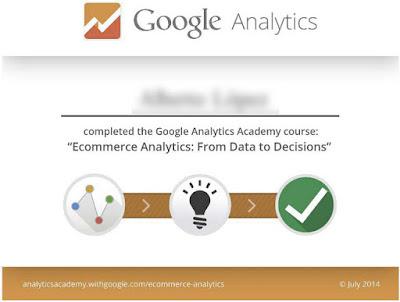 Consigue el certificado online en Marketing Digital de Google Analytics